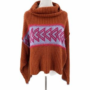 Free People Greater Than Chunky Knit Pullover Sweater